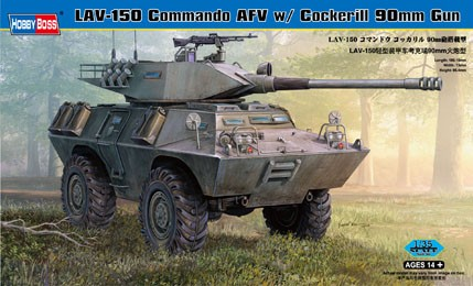 LAV-150 Commando c/Cockerill Hobbyboss 1/35