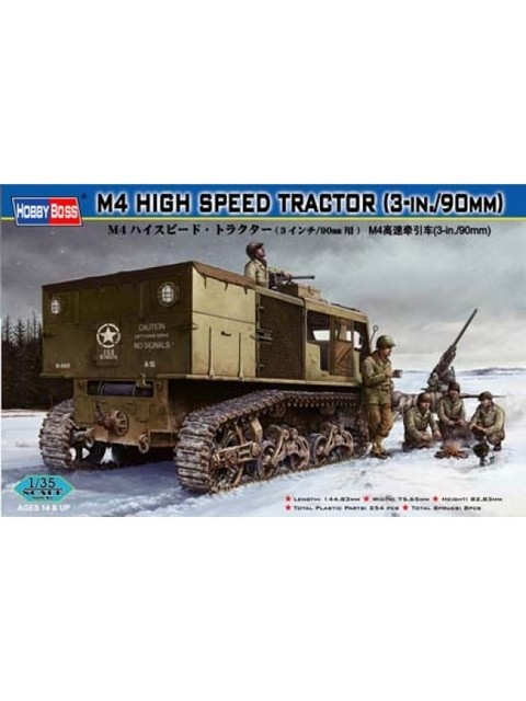 M4 High Speed Tractor 90mm Hobbyboss 1/35
