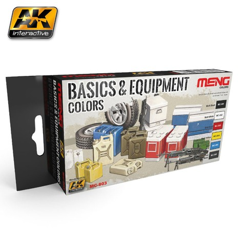 Basics and Equipment Colors Set Meng