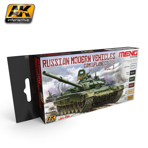 Russian Modern Vehicles Camouflage Colors Vol1 Meng - Pré-venda