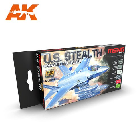 US Stealth Camouflages Colors Meng