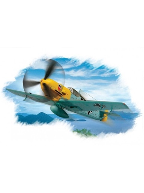 Messerschmitt Me-109E3 Easy Assembly Hobbyboss 1/72