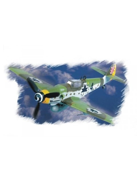 Messerschmitt Me-109G10 Easy Assembly Hobbyboss 1/72