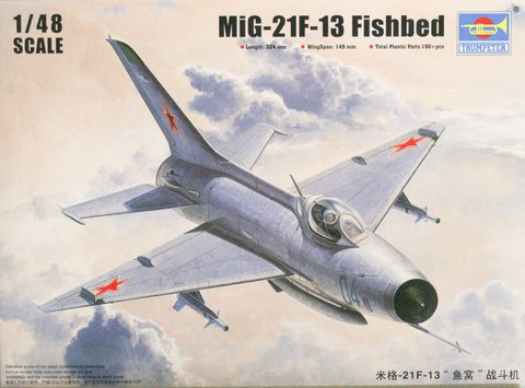 Mikoyan-Gurevich MiG-21F13 Trumpeter 1/48