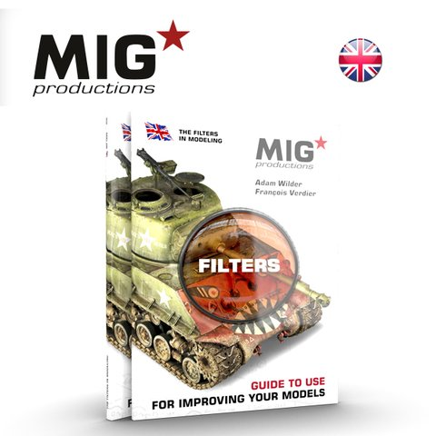 Livro Filters Guide to Use MIG Productions - PRÉ-VENDA