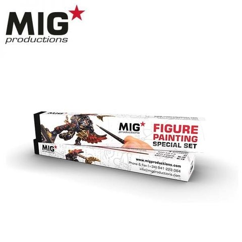 Figure Painting Brush Set MIG Productions - PRÉ-VENDA