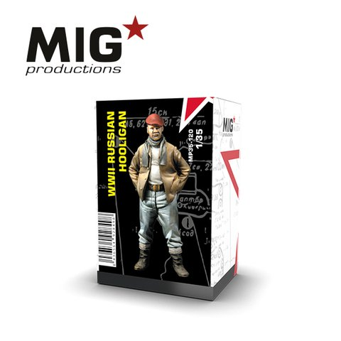 Russian Hooligan 1/35 MIG Productions - PRÉ-VENDA