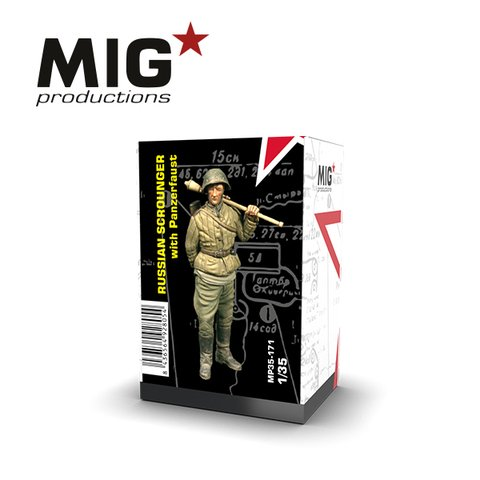 Russian Scrounger with Panzerfaust 1/35 MIG Productions - PRÉ-VENDA