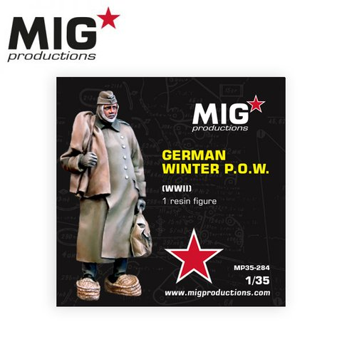 German Winter POW WWII 1/35 MIG Productions - PRÉ-VENDA