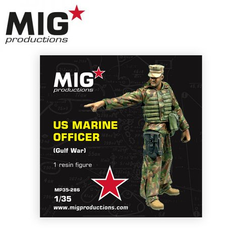 US Marine Officer Gulf War 1/35 MIG Productions - PRÉ-VENDA
