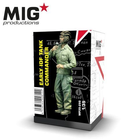 Early IDF Tank Commander 1/35 MIG Productions - PRÉ-VENDA