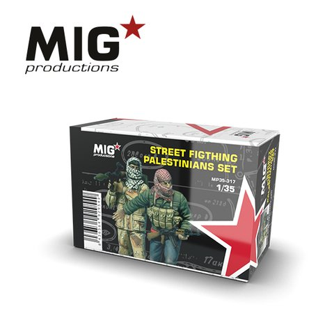 Street Fighting Palestinian Set 1/35 MIG Productions - PRÉ-VENDA