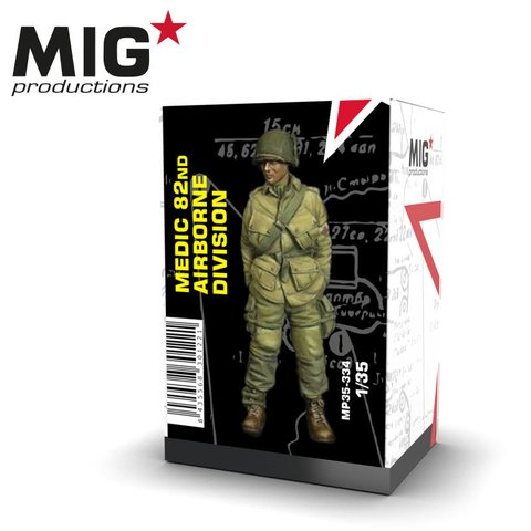 82nd Airborne Medic(WW2) MIG Productions 1/35 - PRÉ-VENDA