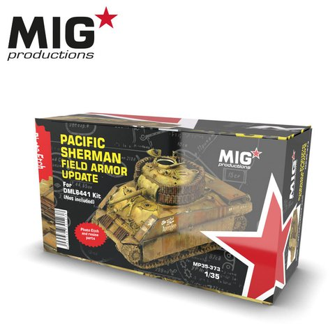 Pacific Sherman Field Armor Update 1/35 MIG Productions - PRÉ-VENDA