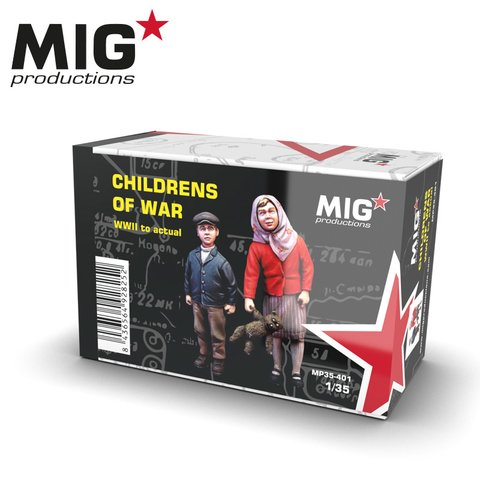 Children of War 1/35 MIG Productions - Pré-venda