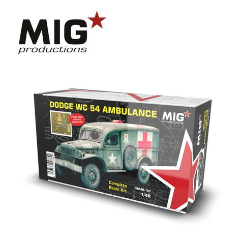 Dodge WC54 Ambulance 1/48 MIG Productions - PRÉ-VENDA