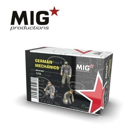 German Mechanics 1/72 MIG Productions