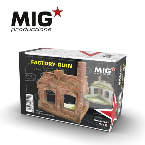 Factory Ruin 1/72 MIG Productions - Pré-venda