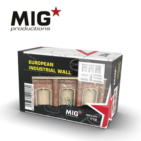 European Industrial Wall 1/72 MIG Productions - Pré-venda