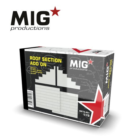 Roof Section Add-on 1/72 MIG Productions - Pré-venda