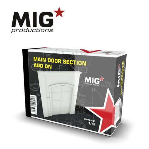 Main Door Section Add-on 1/72 MIG Productions - Pré-venda