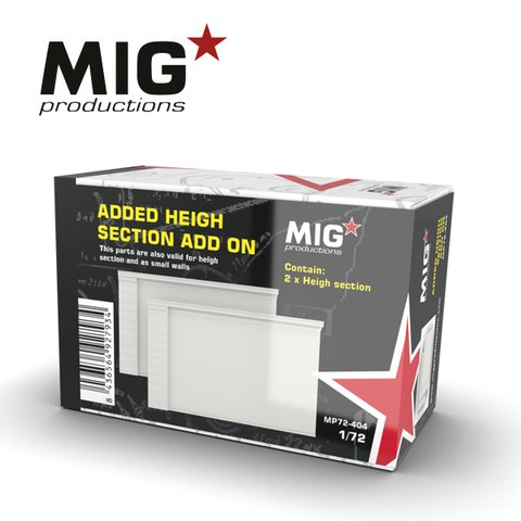 Added Height Section Add-on 1/72 MIG Productions - Pré-venda