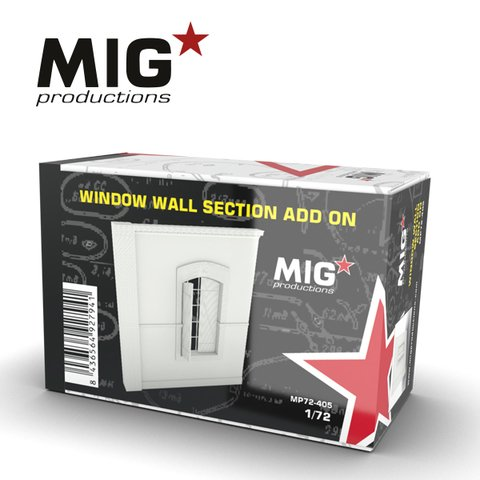 Window Wall Section Add-on 1/72 MIG Productions - Pré-venda