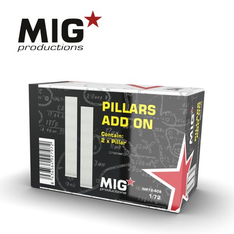 Pillars Add-On 1/72 MIG Productions - Pré-venda