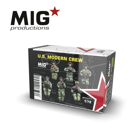 US Modern Crew 1/72 MIG Productions - Pré-venda