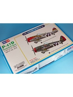 Republic P-47D Easy Assembly Hobbyboss 1/48