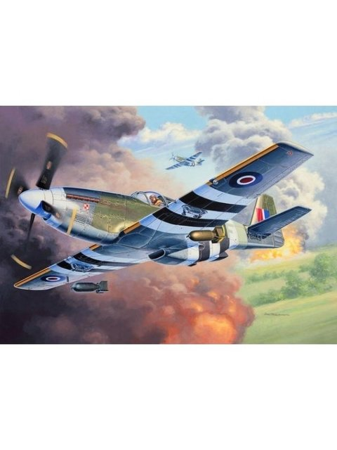 Kit plastimodelo do avião P-51C Revell escala 1/48 para venda