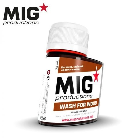 Wash for wood MIG Productions - PRÉ-VENDA