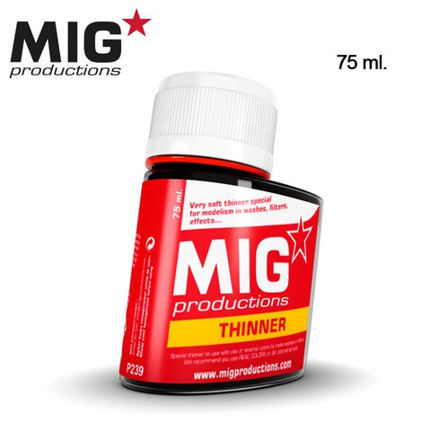 Thinner for Wash 75ml MIG Productions - PRÉ-VENDA
