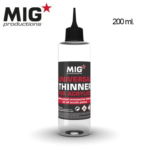 Universal Thinner for Acrylics MIG Productions - PRÉ-VENDA