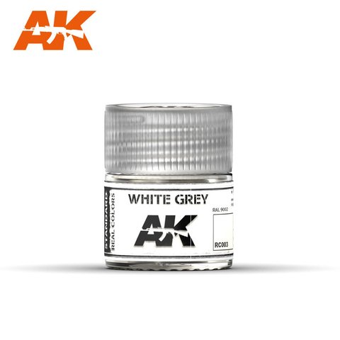 Real Colors White Grey AK Interactive - Pré-venda