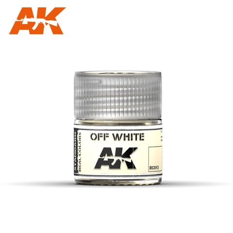 Real Colors Off White AK Interactive - PRÉ-VENDA
