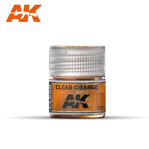 Real Colors Clear Orange AK Interactive - Pré-venda