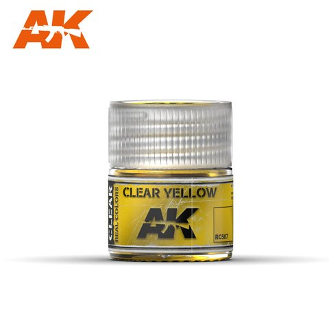 Real Colors Clear Yellow AK Interactive - Pré-venda