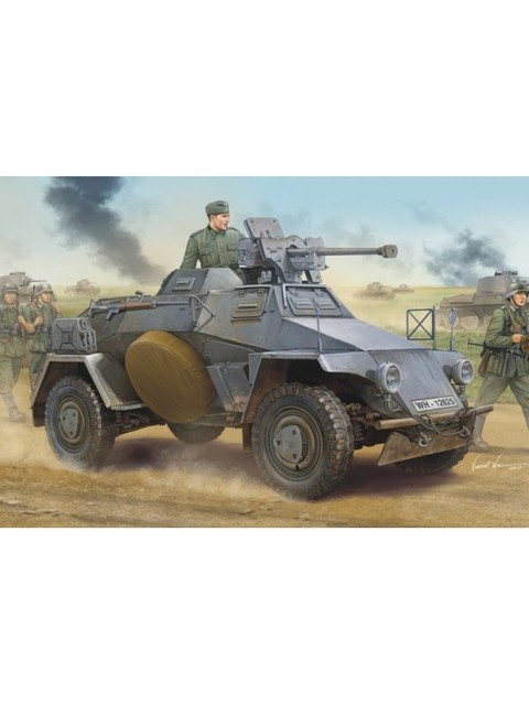 Sd.Kfz.221 Early Hobbyboss 1/35