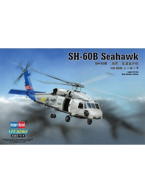 Kit do helicóptero Hobbyboss escala 1/72 para venda