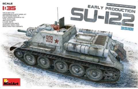 SU-122 Early 1/35 Miniart