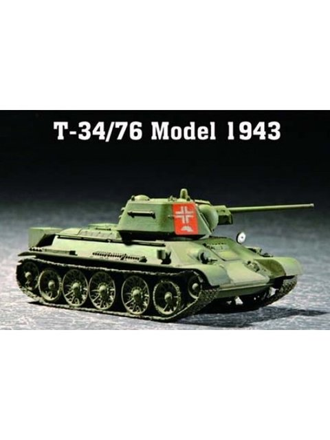 T-34/76 Mod.1943 Trumpeter 1/72