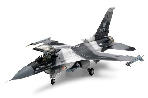 General Dynamics F-16C/N Aggressor Tamiya 1/48