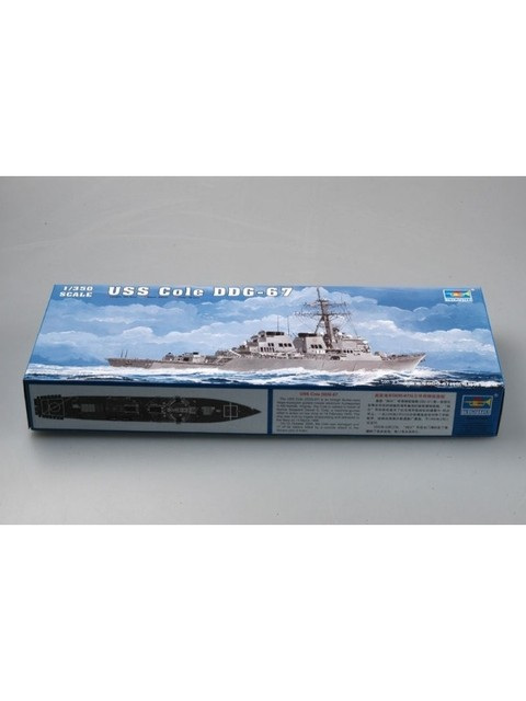 USS Cole (DDG-67) Trumpeter 1/350