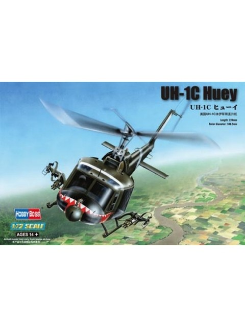 Bell UH-1C Hobbyboss 1/72