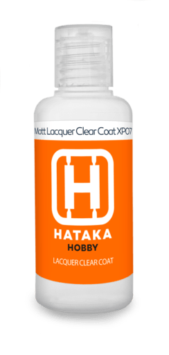 Matt Lacquer Clear Coat 60ml Hataka Hobbyy - Pré-venda