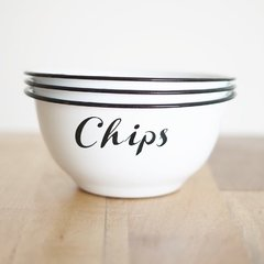 Bowl Enlozado Chips