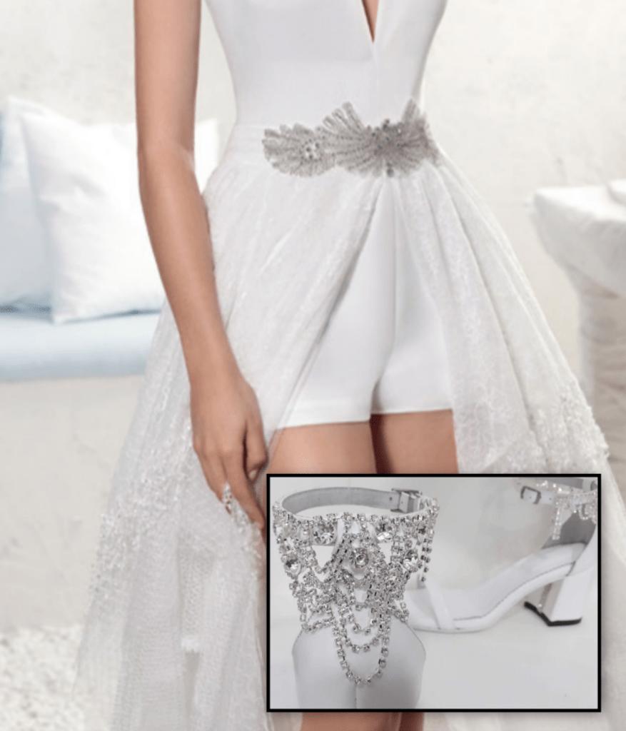 Salome Cuero De Married Fiestas Sandalia Para Just lFJcK1