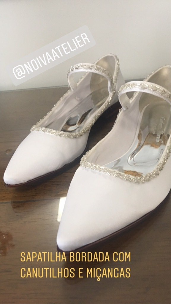 3ddc43e9c7 ... SAPATILHA CATARINA - Gaetana Morato Noiva Atelier - Vestidos e Sapatos  Finos para Noivas