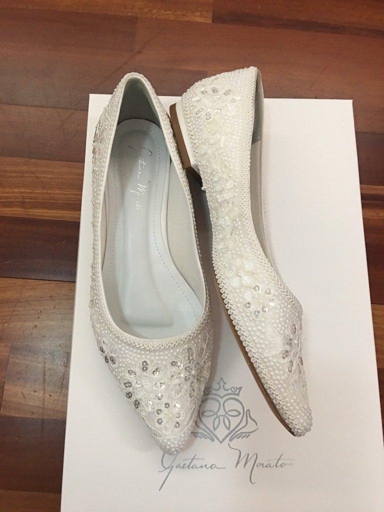 146280b17a ... SAPATILHA VALENCIANA - Gaetana Morato Noiva Atelier - Vestidos e Sapatos  Finos para Noivas
